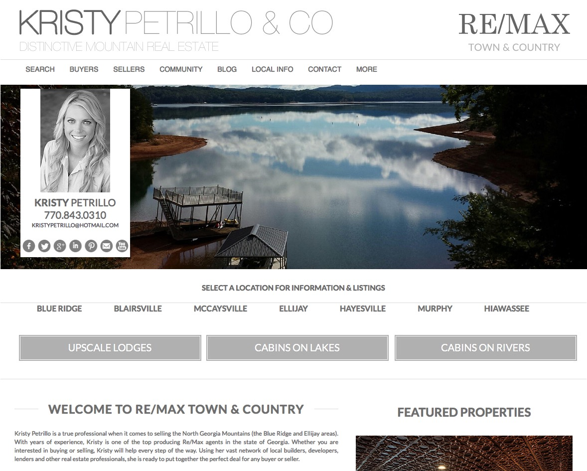 Real Estate Web Template 1