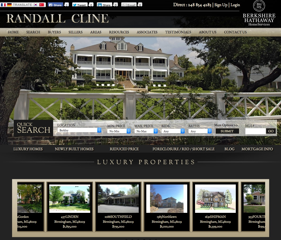 Real Estate Web Template 6